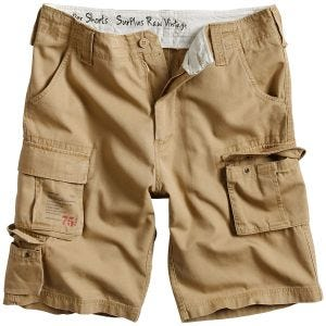 Surplus Trooper Shorts Beige Washed
