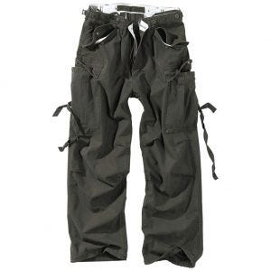 Surplus Vintage Fatigues Trousers Black