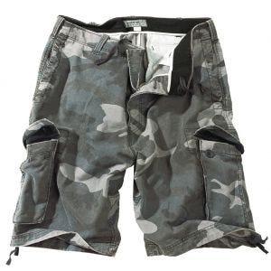 Surplus Vintage Shorts Washed Night Camo
