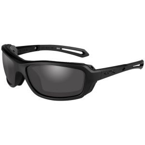 Wiley X WX Wave Glasses - Smoke Grey Lens / Matte Black Frame